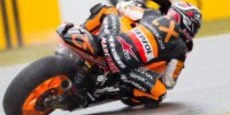 Marc Márquez gana la carrera de Moto2 en Brno por inteligencia