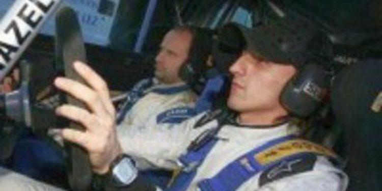 Robert Kubica podría haber probado el Ford Fiesta RS WRC