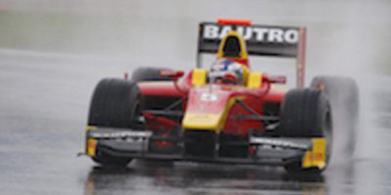 Fabio Leimer marca el mejor crono de los libres de GP2 en Spa