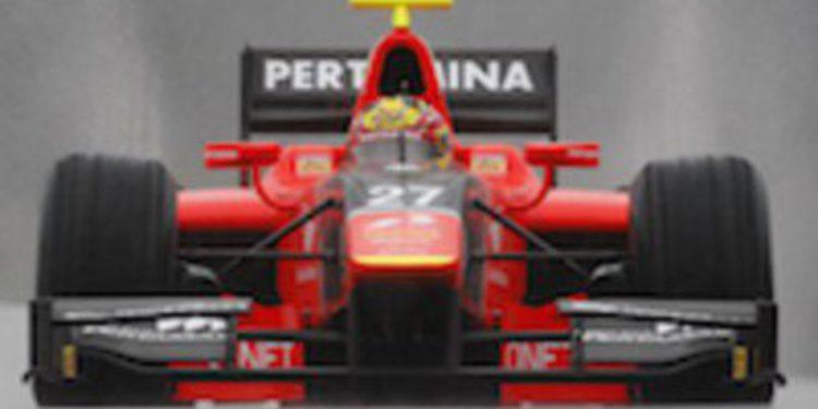 Rio Haryanto consigue su primera pole en GP2 bajo la lluvia en Spa