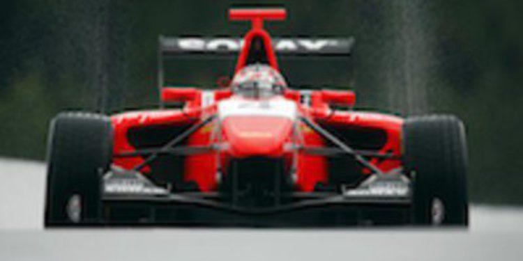 Mitch Evans da un golpe de autoridad adjudicándose la pole de GP3 en Spa