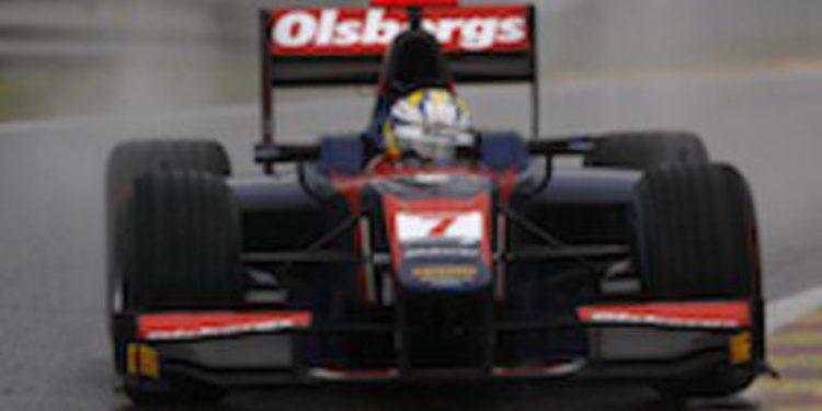 Marcus Ericsson gana en la carrera más larga de la historia de GP2 en Spa