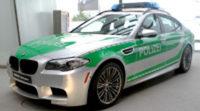 El BMW M5 con el que la policía alemana patrullará las autobahn