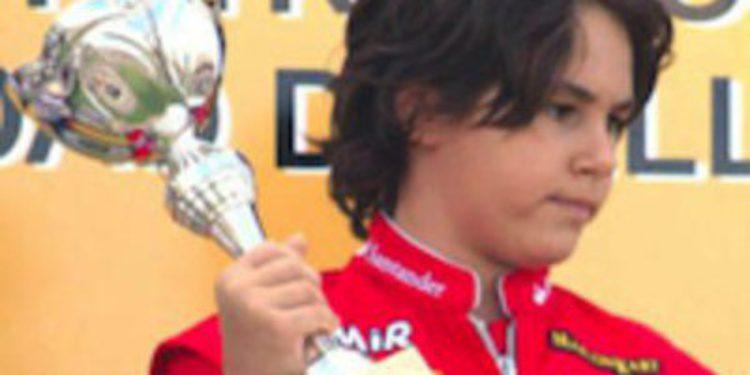 Eliseo Martínez, la nueva perla del karting español, será tutelado por Marc Gené