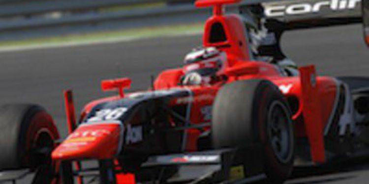 Max Chilton el más rápido en los libres de GP2 en Monza