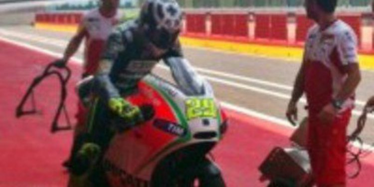 Andrea Iannone muy cerca de Ducati con su gran test en Mugello