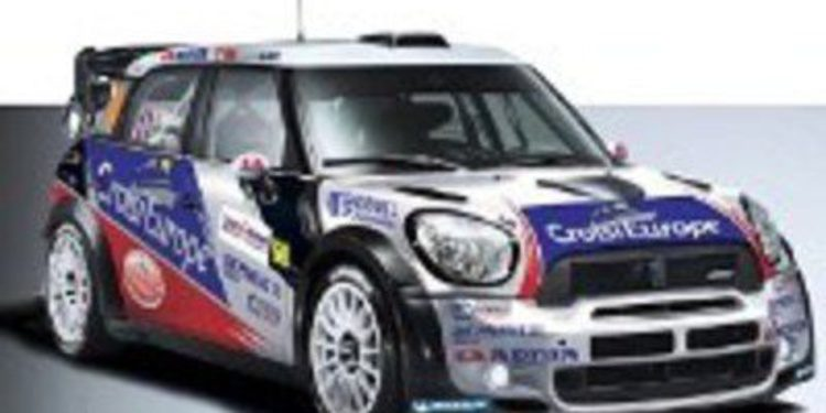 Yvan Muller presenta los colores de su Mini para el WRC