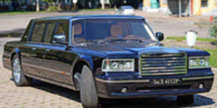 ZIL presenta su prototipo de limusina presidencial: la 4112-R