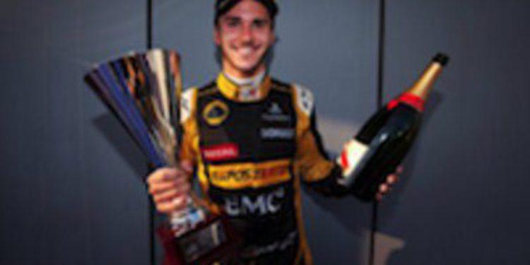 Daniel Abt se aferra al título ganando la primera manga de GP3 en Spa