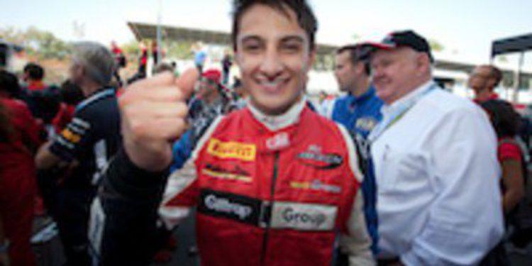 Tio Ellinas se lleva la segunda manga de GP3 en Spa y Mitch Evans es el nuevo campeón.