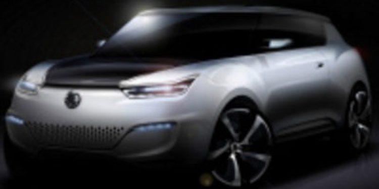 SsangYong mostrará un concept car en la cita gala