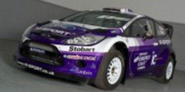 Mathew Wilson presenta su Fiesta WRC para Gran Bretaña