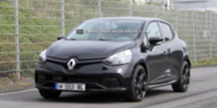Nuevo Renault Clio RS cazado
