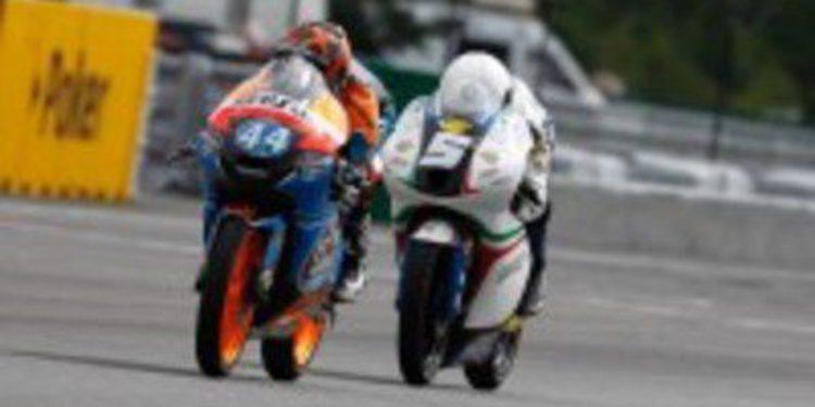 Romano Fenati podría perderse el Gran Premio de San Marino