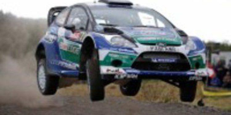 Jari-Matti Latvala gana el Gales Rally Gran Bretaña