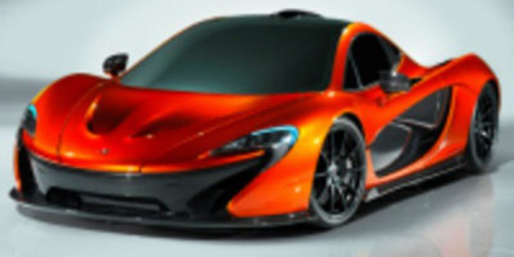 Éste sí es el McLaren P1