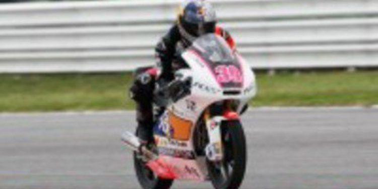 Luis Salom vive una de sus mejores rachas en Moto3