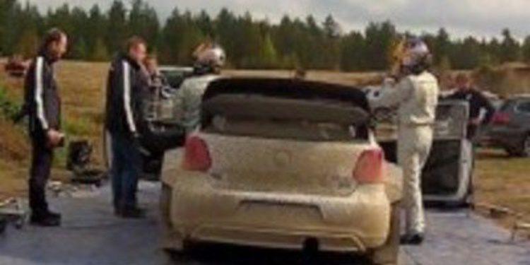 Sebastien Ogier suma otro test con el Polo R WRC en Finlandia