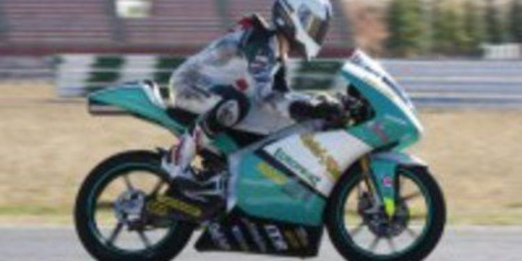 Luca Amato deja a Héctor Faubel fuera del Aspar Team de Moto3