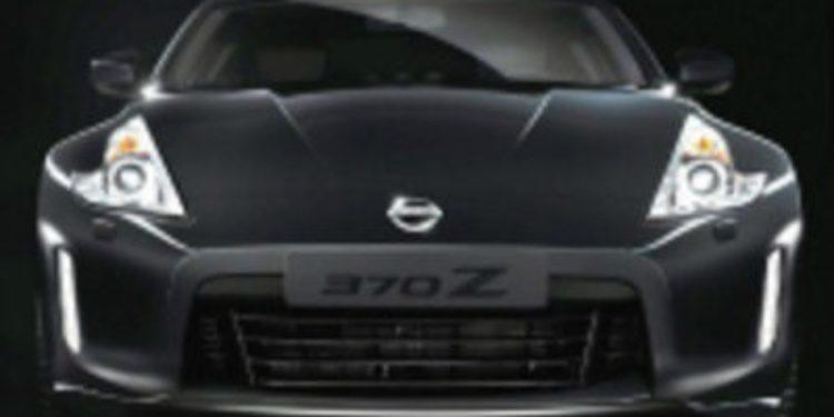 Nissan anticipa su 370Z de 2013