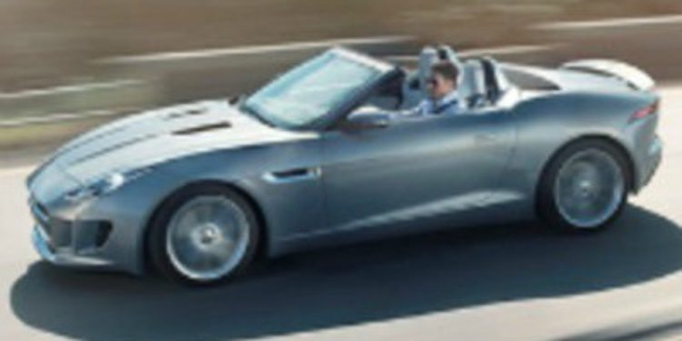 El prototipo que Jaguar renombró como F-Type