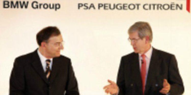 Congelado el acuerdo de colaboración entre los grupos PSA y BMW