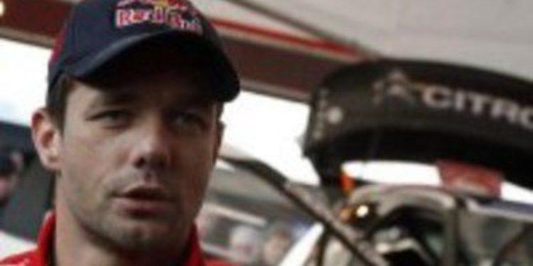 Citroën desvela el programa parcial de Sebastien Loeb