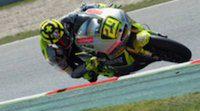 Andrea Iannone lidera unos FP1 de Moto2 pasados por agua