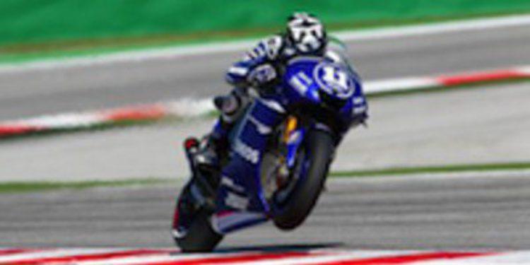 Ben Spies domina los FP2 de MotoGP sobre mojado en Aragón