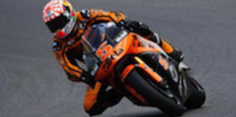 Johann Zarco el más rápido en los FP2 de Moto2 en Aragón
