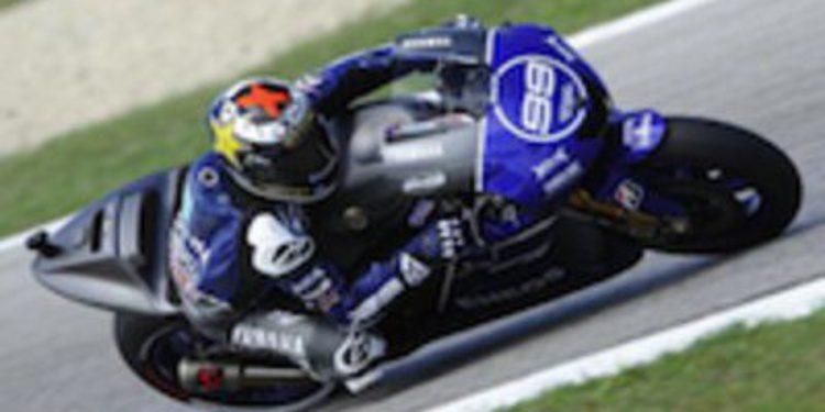 Jorge Lorenzo vuela en Aragón y se adjudica la pole en MotoGP