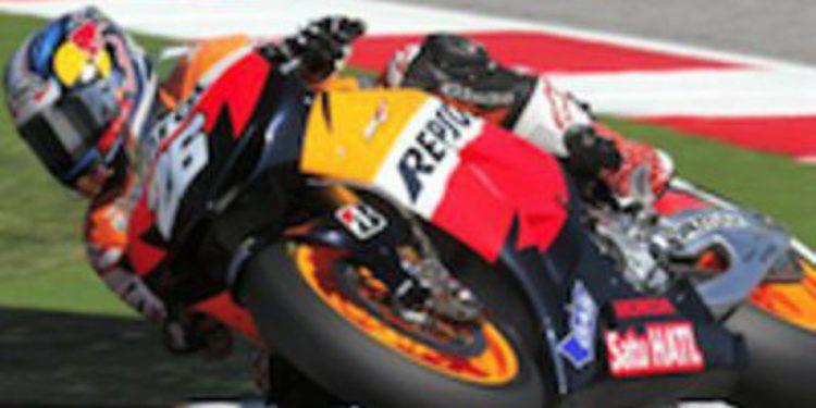 Dani Pedrosa domina la carrera de MotoGP en Aragón con Lorenzo en segunda posición