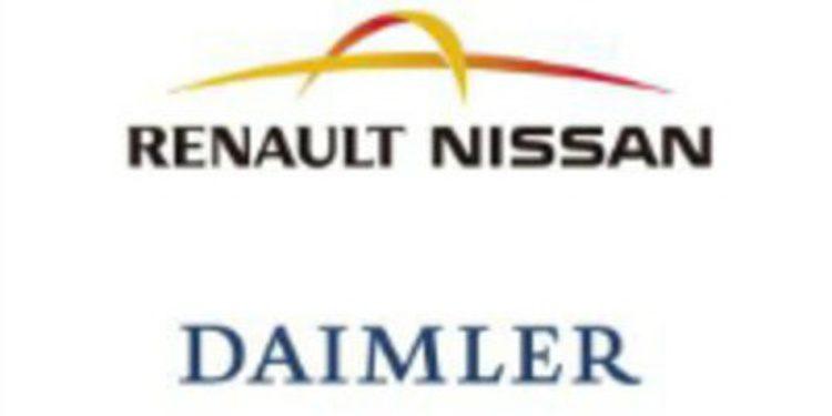 El grupo Daimler y el Renault firman un acuerdo de colaboración