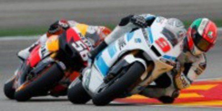 El equipo Ioda Racing trabaja para participar en Moto3