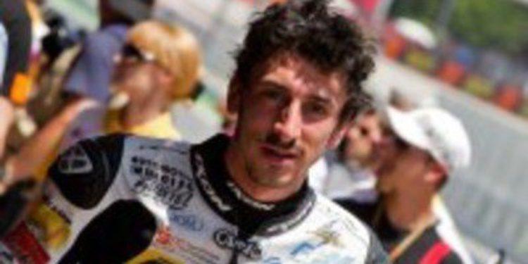 Louis Rossi a Moto2 2013 con el equipo Tech 3 Racing