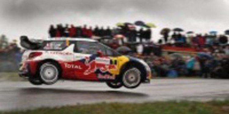 Sebastien Loeb suma su noveno título del WRC al ganar el Rally de Francia
