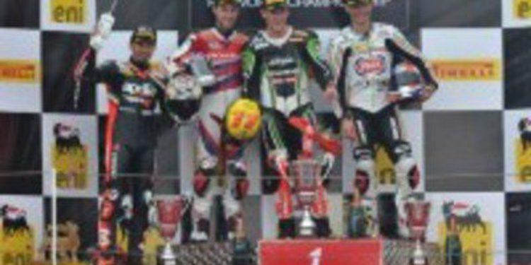 Max Biaggi campeón del Mundial de Superbikes por medio punto