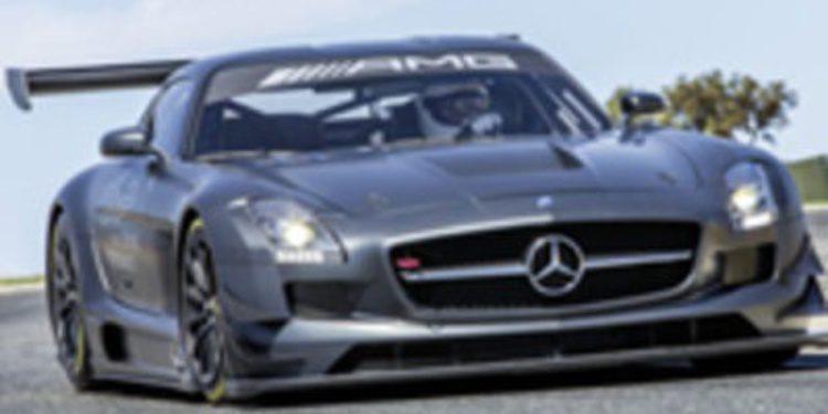 """Presentado el nuevo Mercedes-Benz SLS AMG GT3 """"45 aniversario"""""""