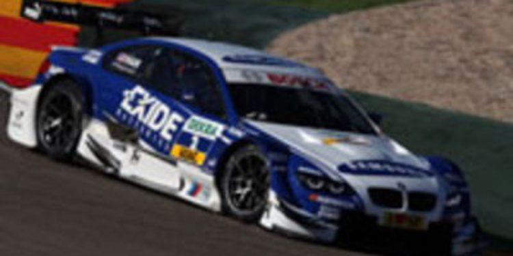 Martin y Leimer impresionan en su primera prueba con el BMW DTM