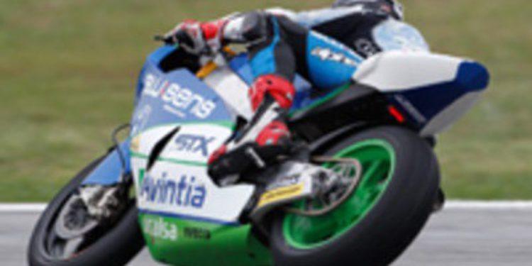 Takaaki Nakagami y Julito Simón en el Italtrans Racing para Moto2 2013