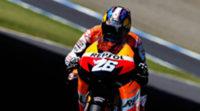 Dani Pedrosa responde a Lorenzo en los FP2 de MotoGP en Japón