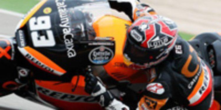 Marc Márquez dirige la orquesta de los FP2 de Moto2 en Motegi