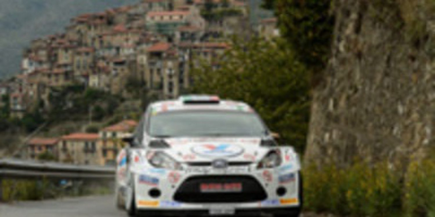 Giandomenico Basso se anota el Rally de San Remo del IRC