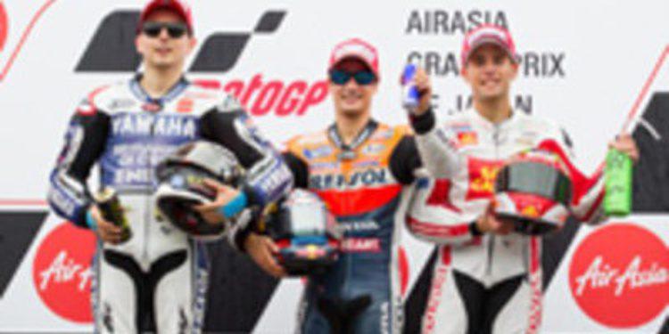 Dani Pedrosa mantiene vivo el campeonato tras Japón