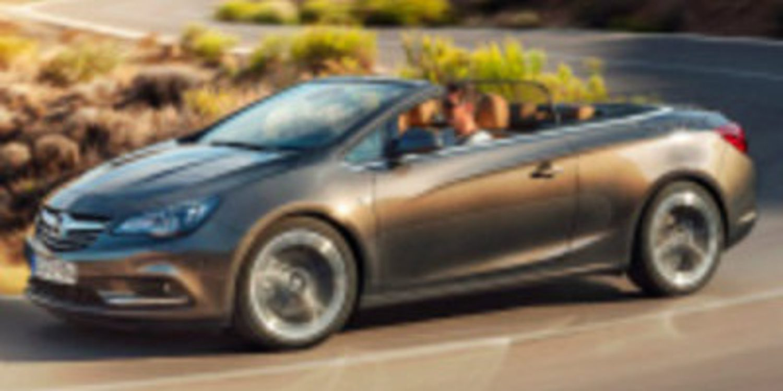 El Opel descapotable será conocido como Cabrio