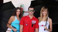 Dani Rivas con la Kalex de TSR Motorsport en Cheste
