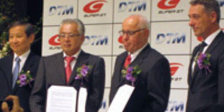 El DTM y el Super GT firman un acuerdo desde 2014