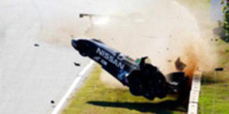 El DeltaWing sufre un accidente de 7G