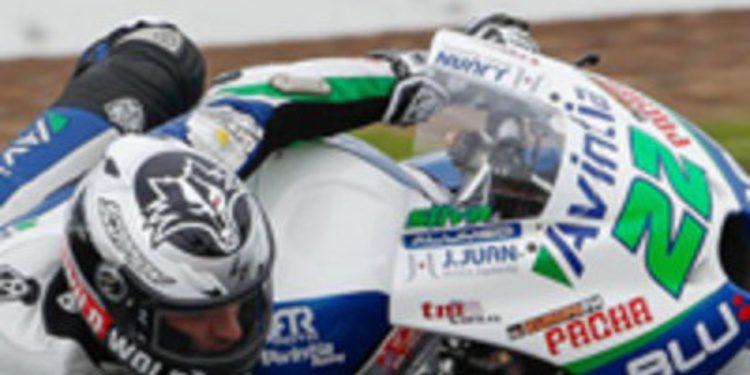 Iván Silva domina unos FP2 de MotoGP en Malasia pasados por agua