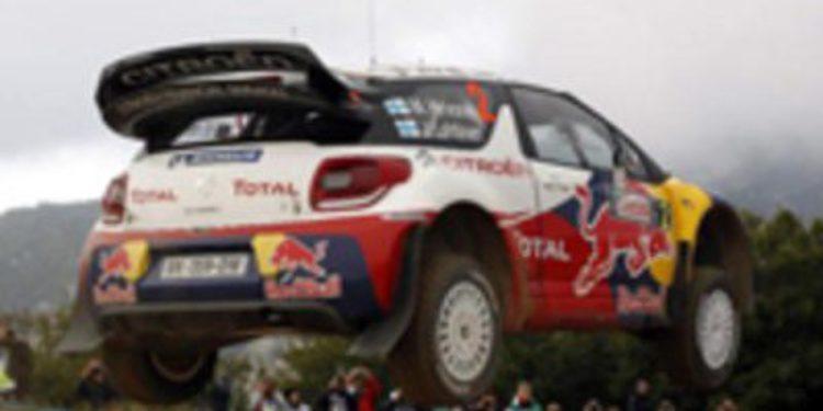 Mikko Hirvonen se queda sólo en la Etapa 1 del Rally de Italia